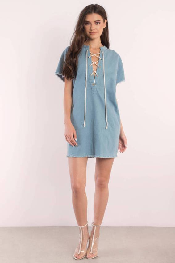 light-wash-cristina-denim-lace-up-day-dress
